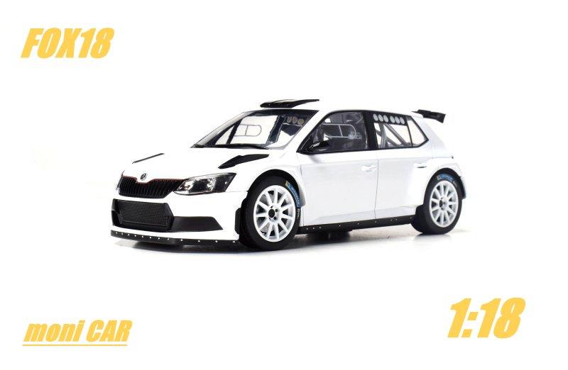 Škoda Fábia R5 biela